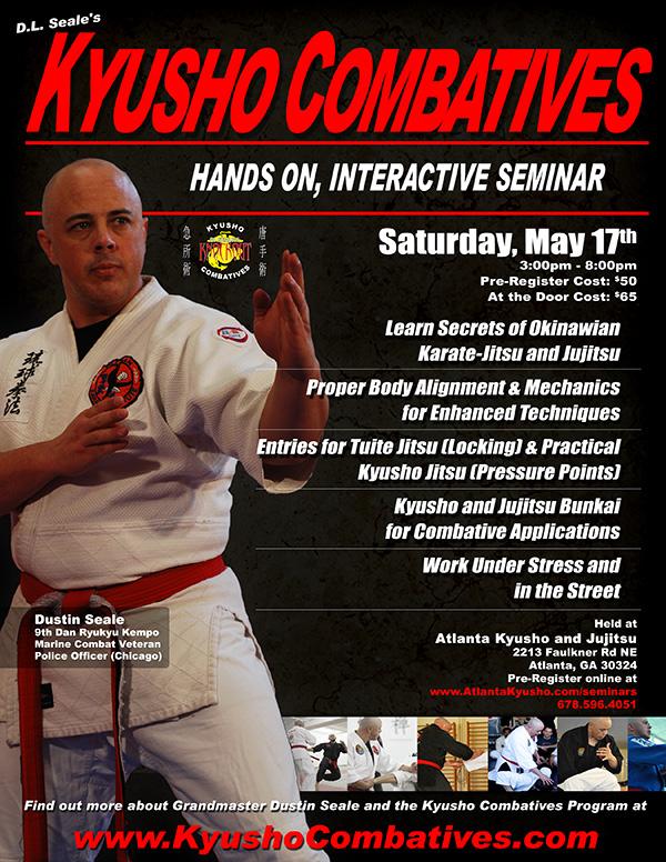Kyusho Combatives in Atlanta, GA @ Atlanta Kyusho and Jujitsu | Atlanta | Georgia | United States